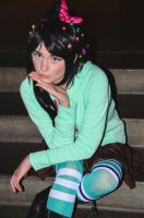Vanellope von Schweetz: A Little Sugar by AnyaPanda