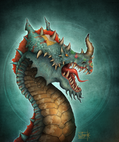 Indian Dragon by Anant-art