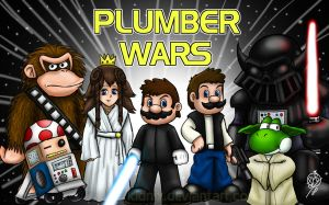 PLUMBER WARS by Lukael-Art