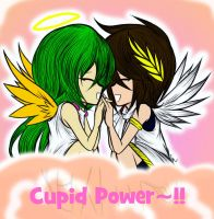 Cupid Powers United! by MewKwota