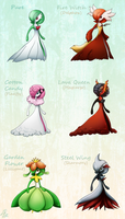 Pokemon Variants - Gardevoir by LimeRa