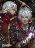 Dante and Nero - Patreon- by Innervalue