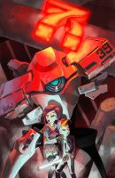 robot and kids by NIW