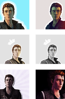 Rhys Icons by LittleRedHatter