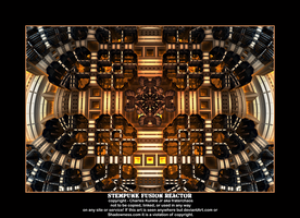 steampunk fusion reactor by fraterchaos