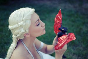 Coz Baby Dragon Drogon is LUV by AlexRogue