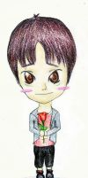 Chibi Donghae - No Other by Mizu-chan-x3