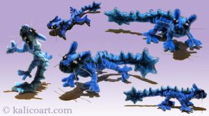 Vikabb -- Pipe Cleaners by kalicothekat