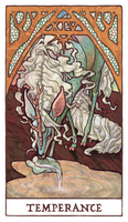 Tarot - Temperance Discarded by Jacinthe