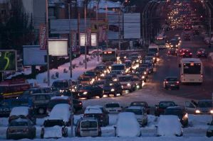traffic in bucharest by as--time--goes--by
