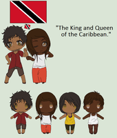 Hetalia OC[s] - Trinidad and Tobago by MapleBeer-Shipper