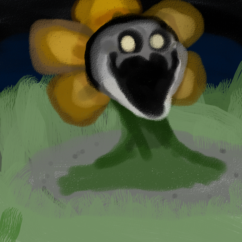 The Friendly Flower by Some-Crappy-Edits
