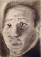 Charcoal study 2 by MoonstruckKid