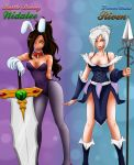 Nidalee Riven Outfit Swap by Dweynie