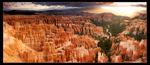 Bryce Canyon Sunrise Pano by narmansk8