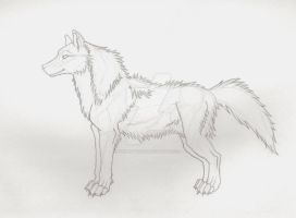 Pearl Style Wolf by veritasBtold