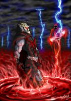 Shadow Weaver and Hordak by shawnmp