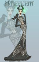 Maleficent Couture Collection III by SEWFashion