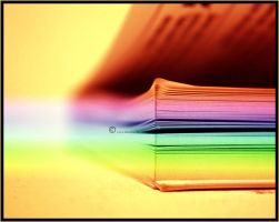 all books colors by Lapapunk