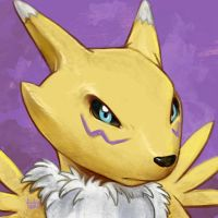 Daily Sketches Renamon by fedde
