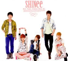 SHINee Fictional Album Cover by SherinaHime