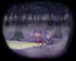 Gravity Falls: Slender by Hichcoot
