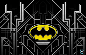 Batman Symbol by darthblinx