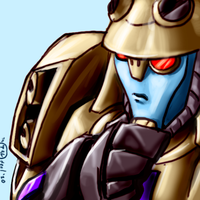 Thoughtful Blitzwing by Th4rlDEAL