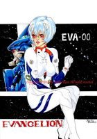 GIFT: Rei Ayanami by Melie-Rose