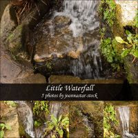 Little Waterfall by joannastar-stock