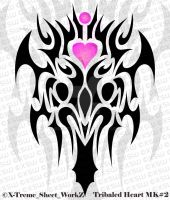 Tribaled Heart Mark II by ifunxtreme