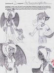 FemAnthro Toothless doodles by dreamer45