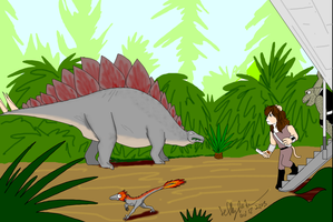 Arttrade Misans Visiting  Prehistoric Earth by SailorEnergy