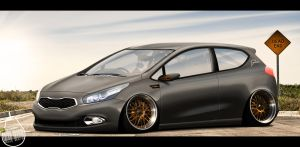 KIA Cee'd by KruLeDesign