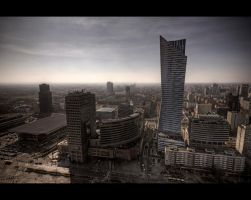 Warsaw Towers by Beezqp