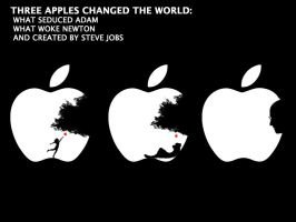 Three apples changed the world by farlei