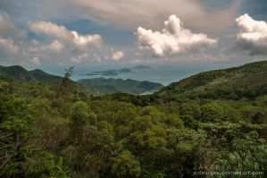 View from Big Buddha - 2 by Z-Designs