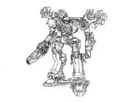 Armored core fanart by RtotheYO