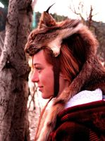 Lynx Skin Headdress by NaturePunk