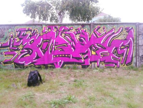 Second Street Graff Ever by AnSiiii