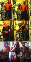 Spiderman costume wip by Hito-san