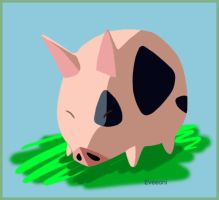 Wind Waker Pig by Eveeoni