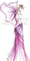 butterfly design by AmanyIbrahem