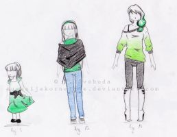 Anouk's outfits through years by TiaVon