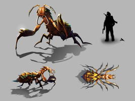 Swamp Insect Concept by xvortexbladex