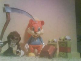 Conker papercraft collection by killero94