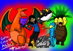 Team FireRed -1- by AzeeraTheNinja