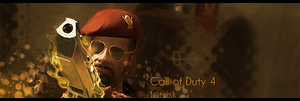 Call of Duty 4 sig by filek2009