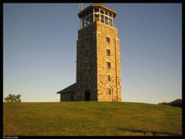 Quabbin Tower by JBail