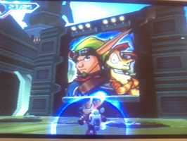 Jak+Daxter in Ratchet+Clank-1 by Beans-OCG